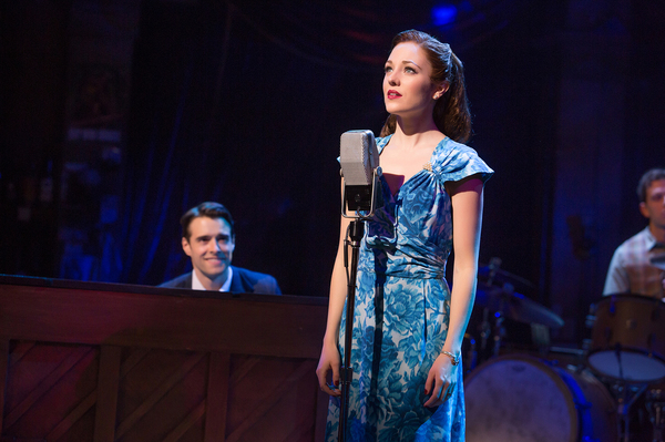 Corey Cott and Laura Osnes. Photo Credit: Jeremy Daniel