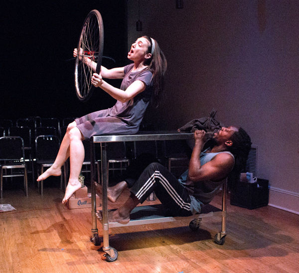 Photo Flash: First Look at South African Drama THE YEAR OF THE BICYCLE in U.S. Premiere at the cell