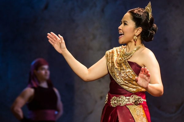 Joan Almedilla as Lady Thiang in Rodgers & Hammerstein's The King and I. Photo by Matthew Murphy