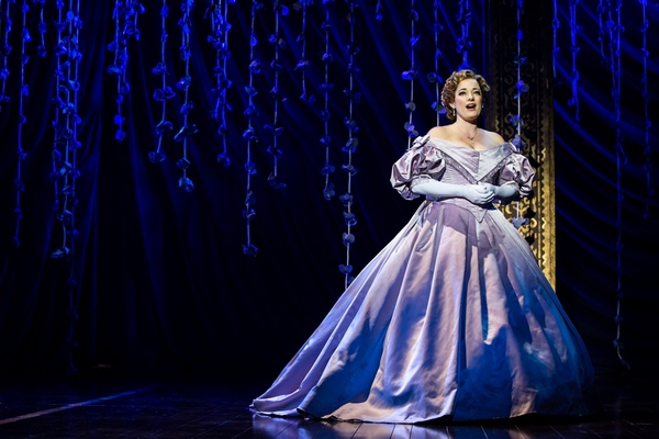 Laura Michelle Kelly as Anna in Rodgers & Hammerstein's The King and I. Photo by Matthew Murphy