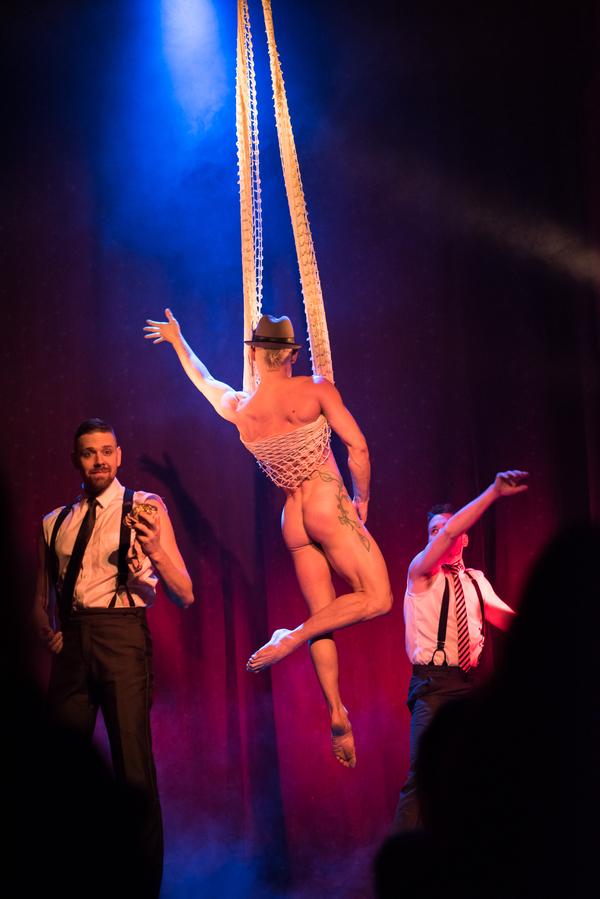 Photo Flash:  BOYS' NIGHT: An All-Male Cirquelesque Revue Retursn to The Slipper Room 5/4