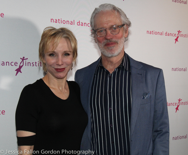 Charlotte d'Amboise and Terrence Mann