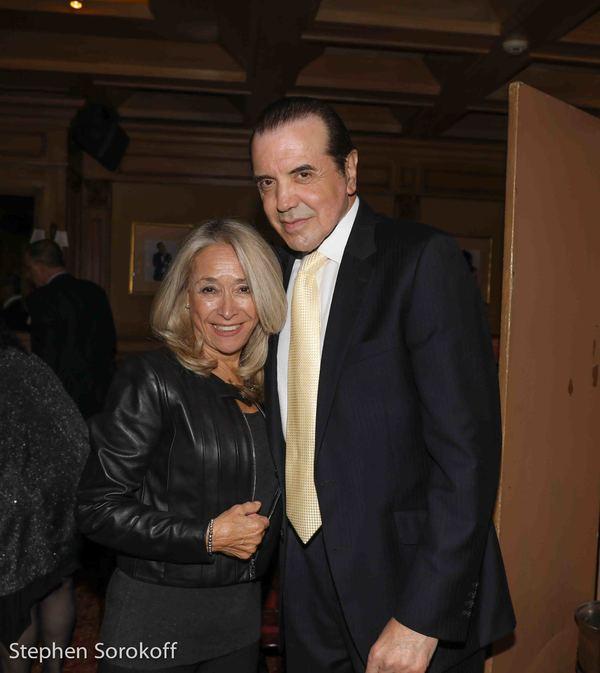 Eda Sorokoff & Chazz Palminteri