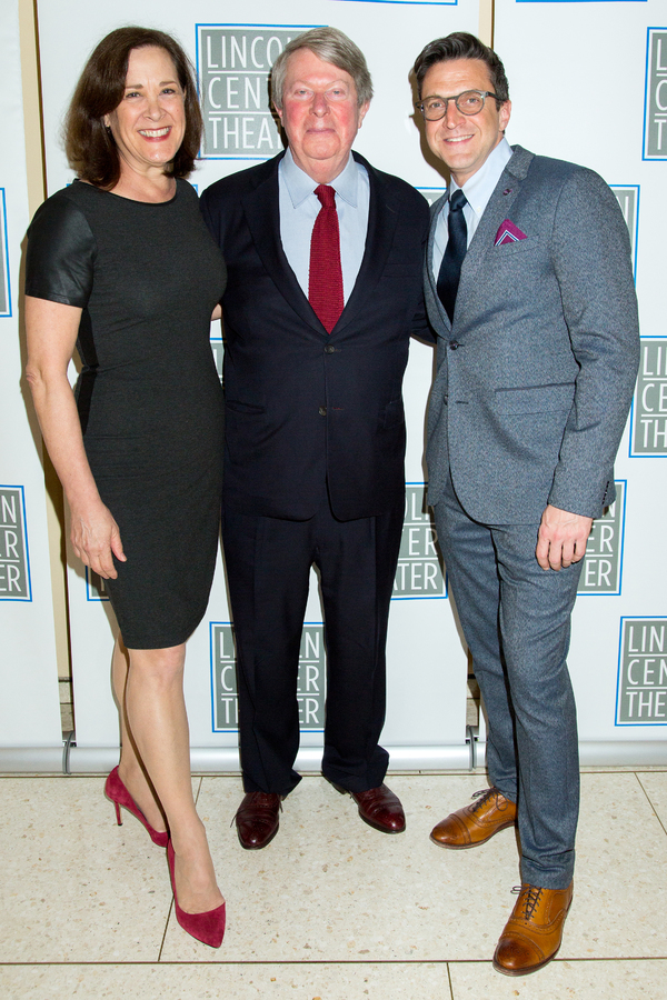 Karen Ziemba, Andre Bishop, Raul Esparza
