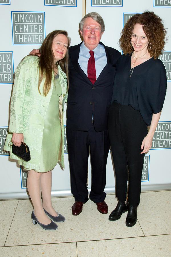 Sarah Ruhl, Andre Bishop, Rebecca Taichman