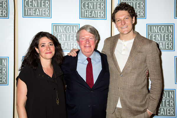 Rachel Chavkin, Andre Bishop, Gabriel Ebert