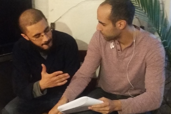 Mohammed Saad Ali and Thamer Jendoubi