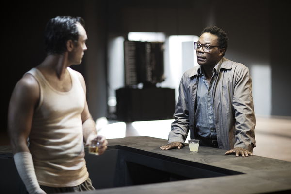 Jude Law and Chukwudi Iwuji