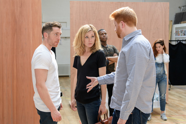 Photo Flash: In Rehearsal with John Boyega, Sarah Greene and More for WOYZECK at The Old Vic