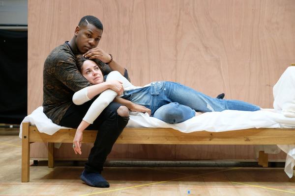 John Boyega and Sarah Greene