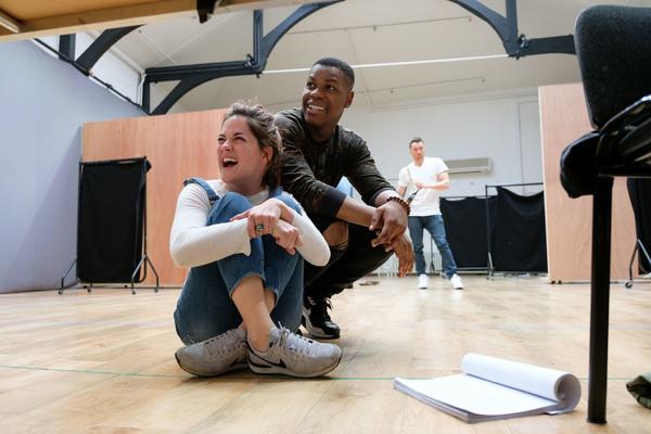 Sarah Greene and John Boyega