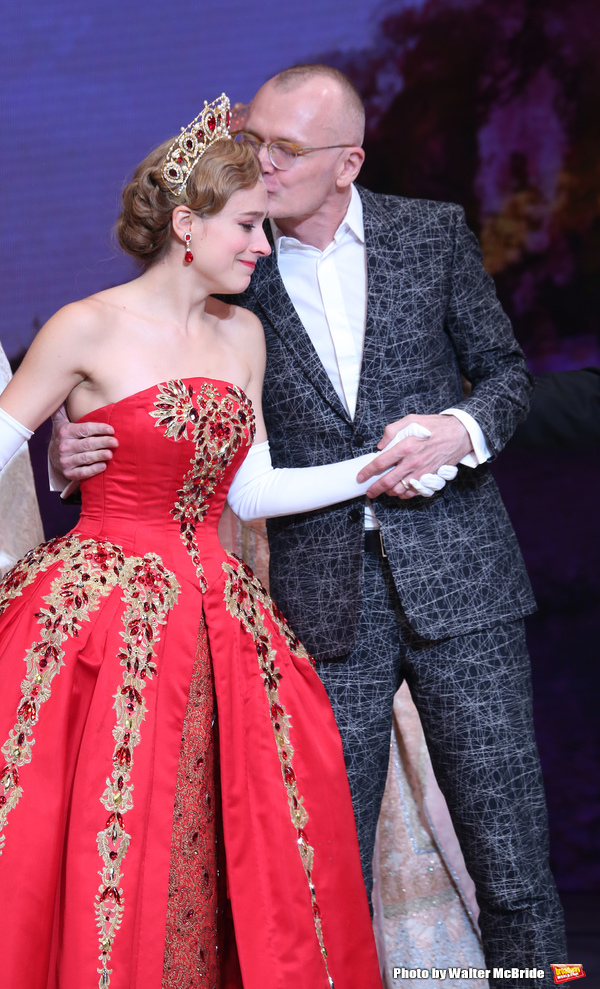 Photo Coverage Anastasia Gets A Royal Welcome On Broadway