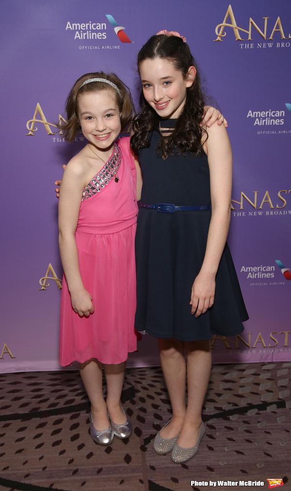 Nicole Simeca and McKayla Twiggs