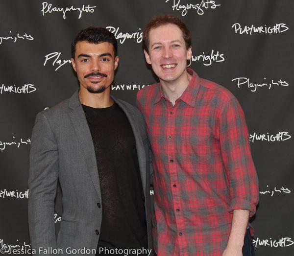 Yurel Echezarreta and Olli Haaskivi Photo