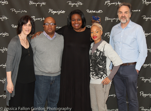Leslie Marcus, Robert O'Hara, Kirsten Childs, Camille A. Brown and Tim Sanford Photo
