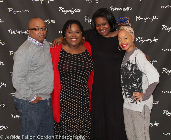 Robert O'Hara, Ashley D. Kelley, Kirsten Childs and Camille A. Brown