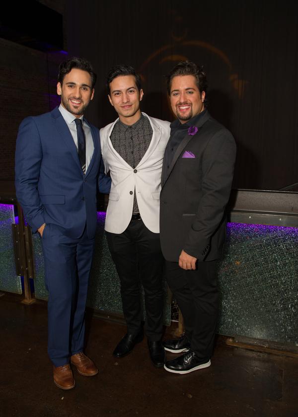 Mike Longo, Philippe Arroyo and Zach Bencal Photo