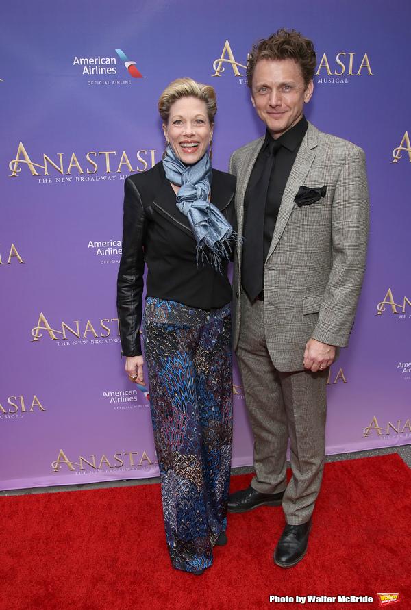 Marin Mazzie and Jason