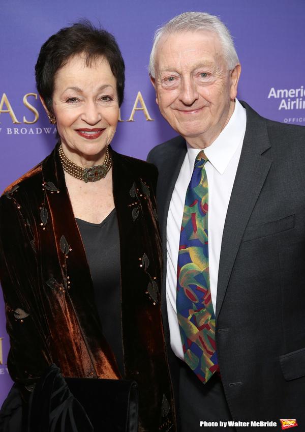Lynn Ahrens and husband