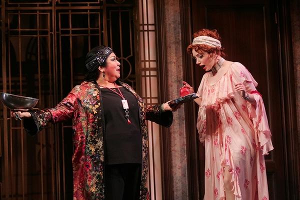 Loretta Ables Sayre and Samantha Sturm