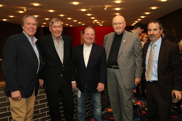 Gene O'Donovan, Artie Siccardi, Fred Gallo, Joseph Forbes, and Dan Hanessian