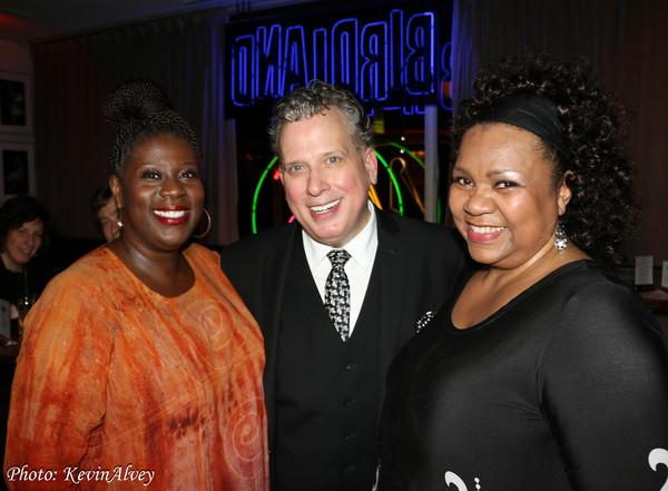 Capathia Jenkins, Billy Stritch and Aisha de Haas