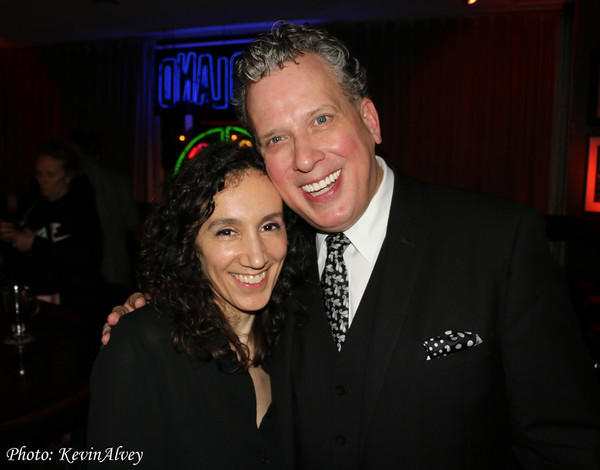 Gabrielle Stravelli and Billy Stritch