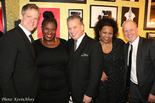 Steve Doyle, Capathia Jenkins, Billy Stritch, Aisha de Haas and Paul Davis