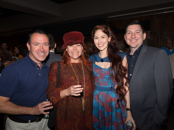 Steven Glaudini, Bets Malone, April Malina, and Jason Niedle