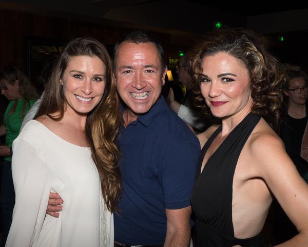 Cassandra Murphy, Steven Glaudini, and April Henry Photo