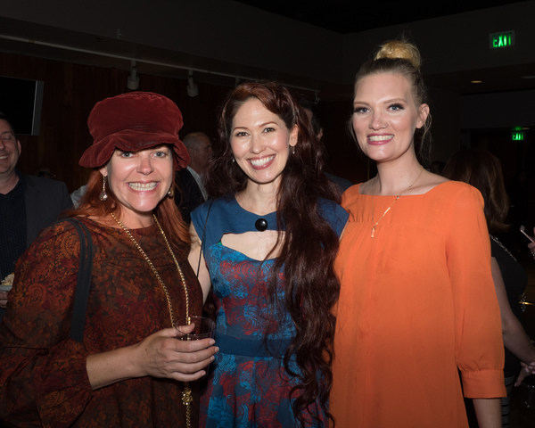 Bets Malone, April Malina, and Wig Designer Katie McCoy