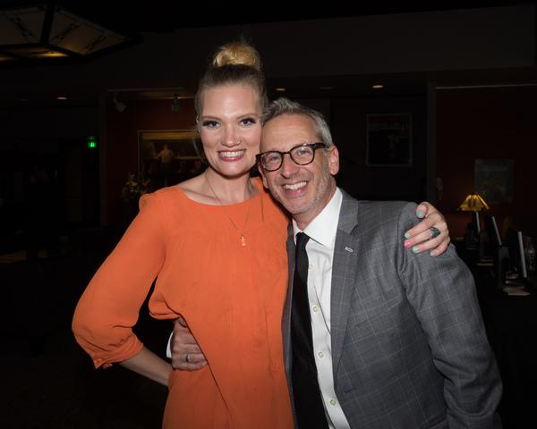 Katie McCoy and Director Richard Israel Photo