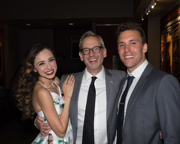 Ashley Marie and Eddie Egan with Director Richard Israel
