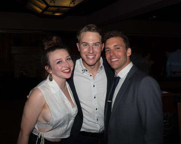 Danielle Kay, Michael Starr, and Eddie Egan Photo