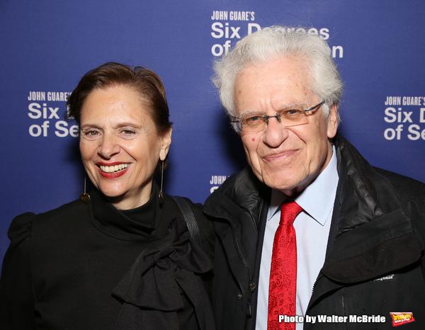 Jill Rose and Jerry Zaks