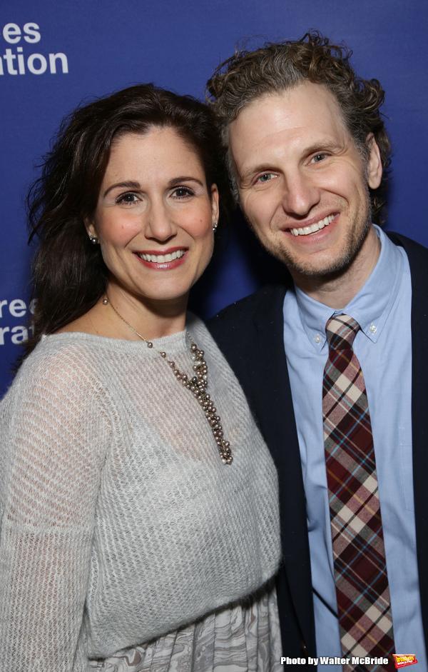 Stephanie J Block and Sebastian Arcelus