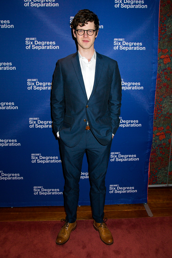 Photo Coverage SIX DEGREES OF SEPARATION Company Parties Hard On Opening Night