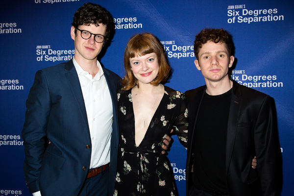Photo Coverage SIX DEGREES OF SEPARATION Company Parties Hard On