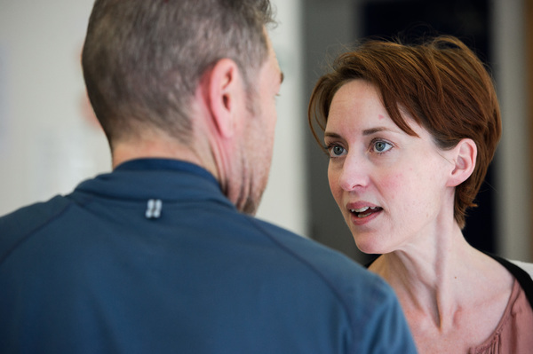 Photo Flash: Greg Hicks and Company in Rehearsal for RICHARD III at the Arcola