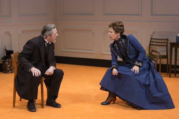 Chris Cooper and Laurie Metcalf