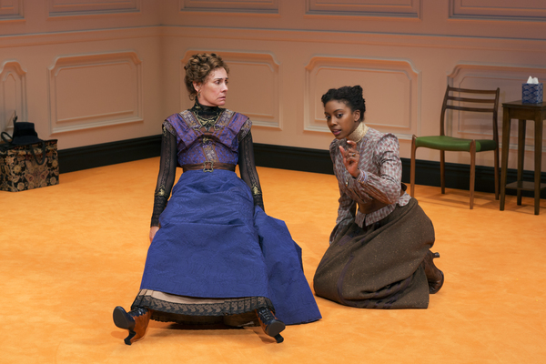 Laurie Metcalf and Condola Rashad