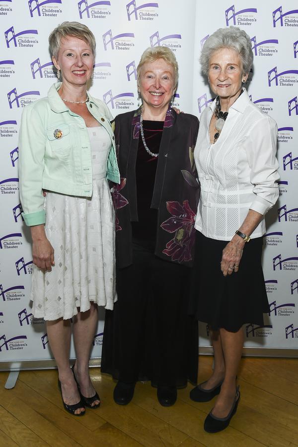 Debra Sue Lorenzen, Barbara Zinn Krieger and Sally Brown