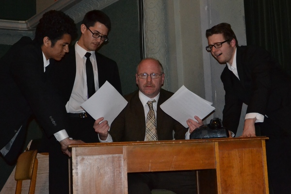 Steve Voris, Keshawn Mellon, Andrew Davenport, and Tj Montgomery