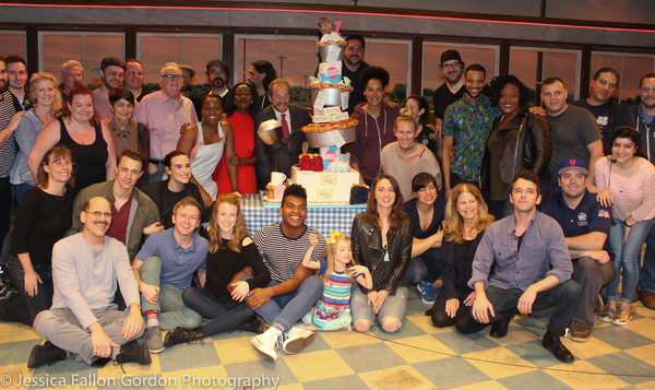 Photo Coverage: WAITRESS Celebrates One Year of Sugar, Butter, Flour and Pie!