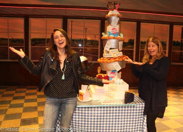 Sara Bareilles and Jessie Nelson