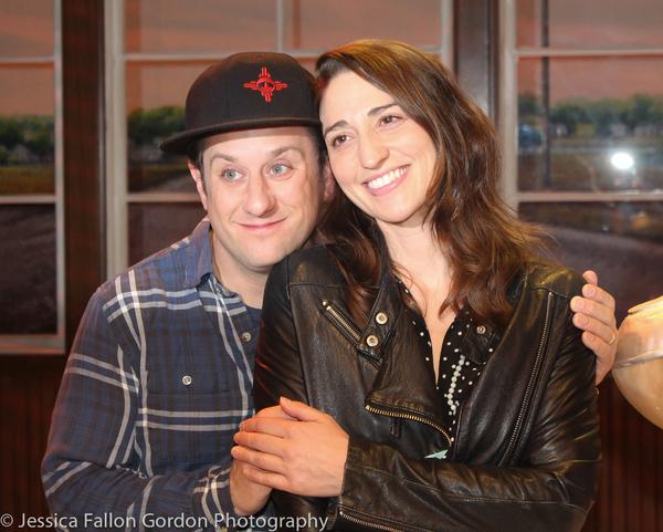 Christopher Fitzgerald and Sara Bareilles