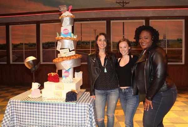 Sara Bareilles, Caitlin Houlahan and Charity Angel Dawson