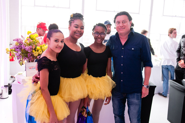 Photo Flash: New York's Top Chefs Support Groove With Me Dance Program for Girls