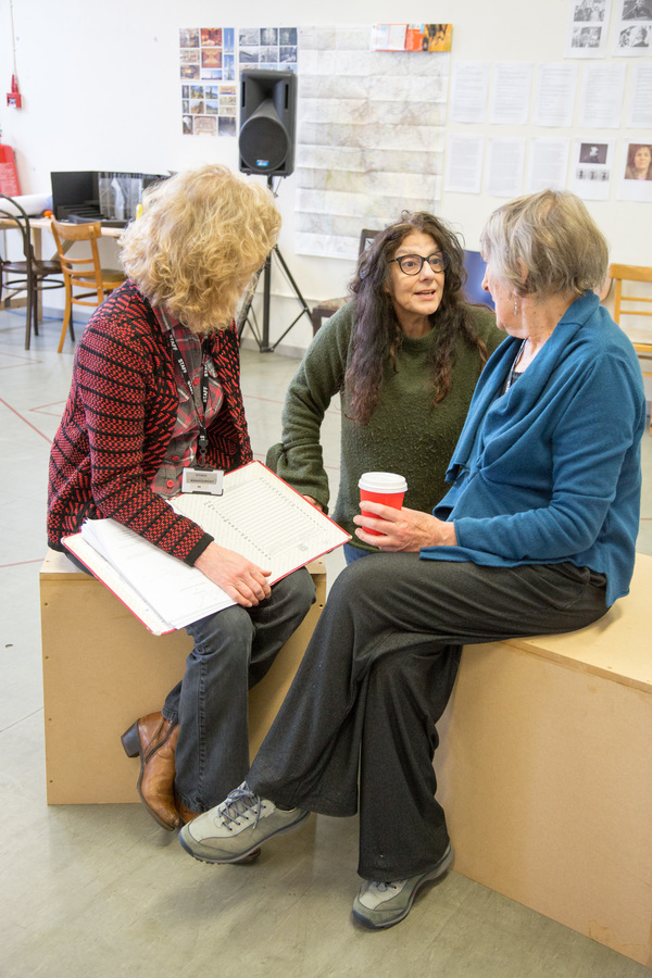 Susan Twist, Souad Faress and Janet Henfrey