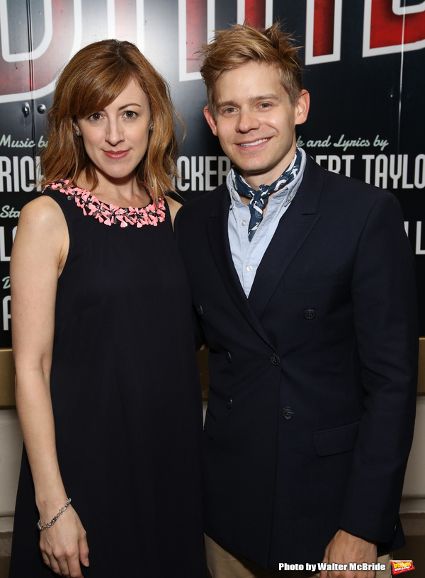 Kate Wetherhead and Andrew Keenan-Bolger